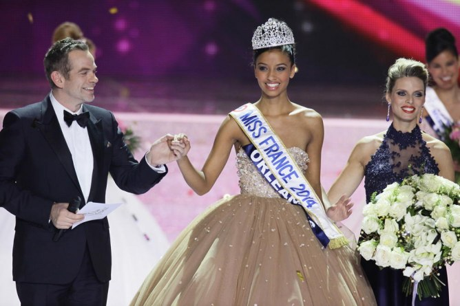 Garou et Flora Coquerel (Miss France 2014)