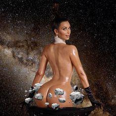 Kim Kardashian et sa photo nue deviennent la risée du web