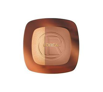 La poudre Glam Bronze Duo, L'Oréal Paris, 19.50 euros