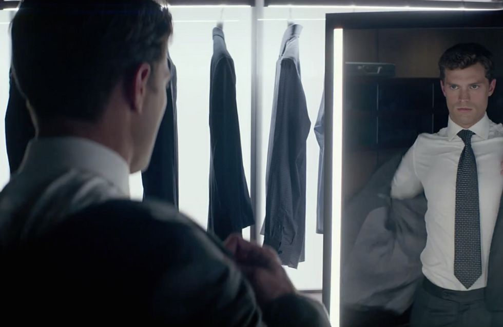 Christian Grey Strips Off In The Latest Trailer For 50 Shades Of Grey