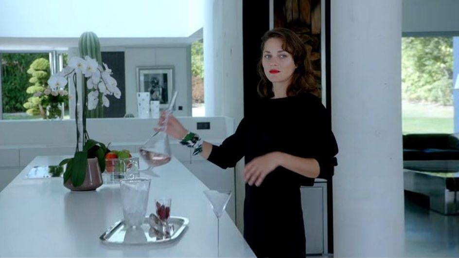 Marion Cotillard chanteuse glamour pour Dior (Vidéo)
