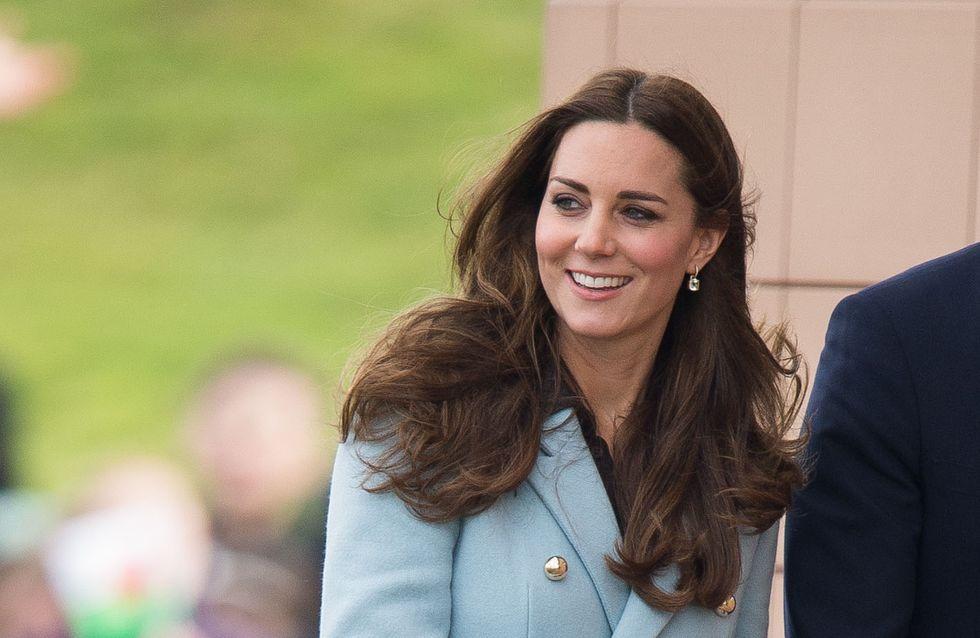 Kate Middleton reprend du service, plus rayonnante et sexy que jamais (Photo)