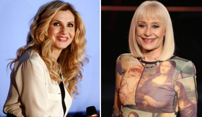 Lorella Cuccarini e Raffaella Carrà