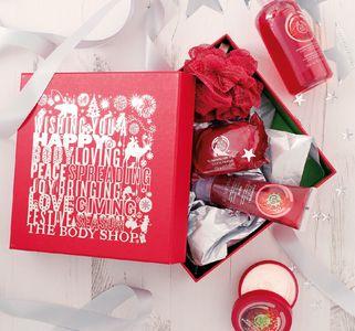The Body Shop célèbre Noël avec des coffrets stylés