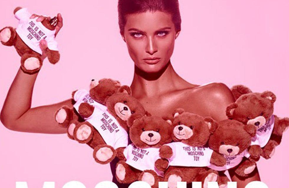 Le nouveau parfum Moschino est un ours en peluche