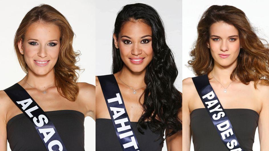 Découvrez les portraits officiels des 33 candidates de Miss France 2015