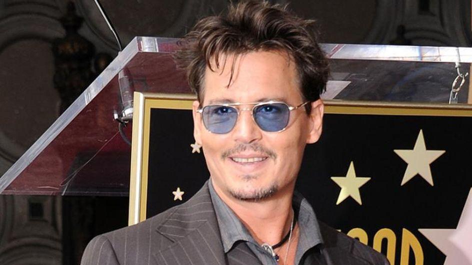Johnny Depp hält betrunkene Laudatio