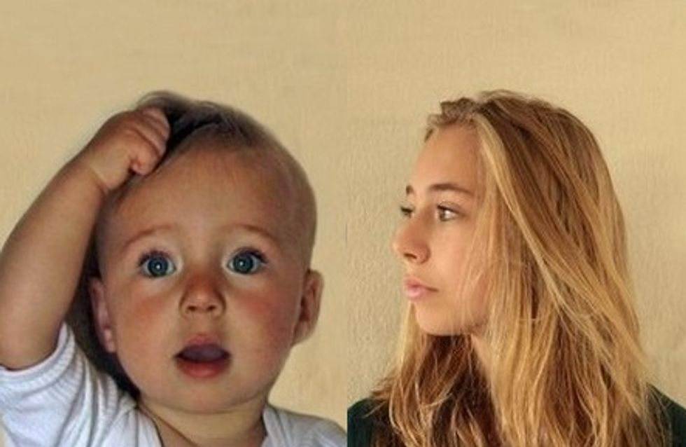 Un père filme sa fille 15 secondes par semaine pendant 14 ans (Vidéo)