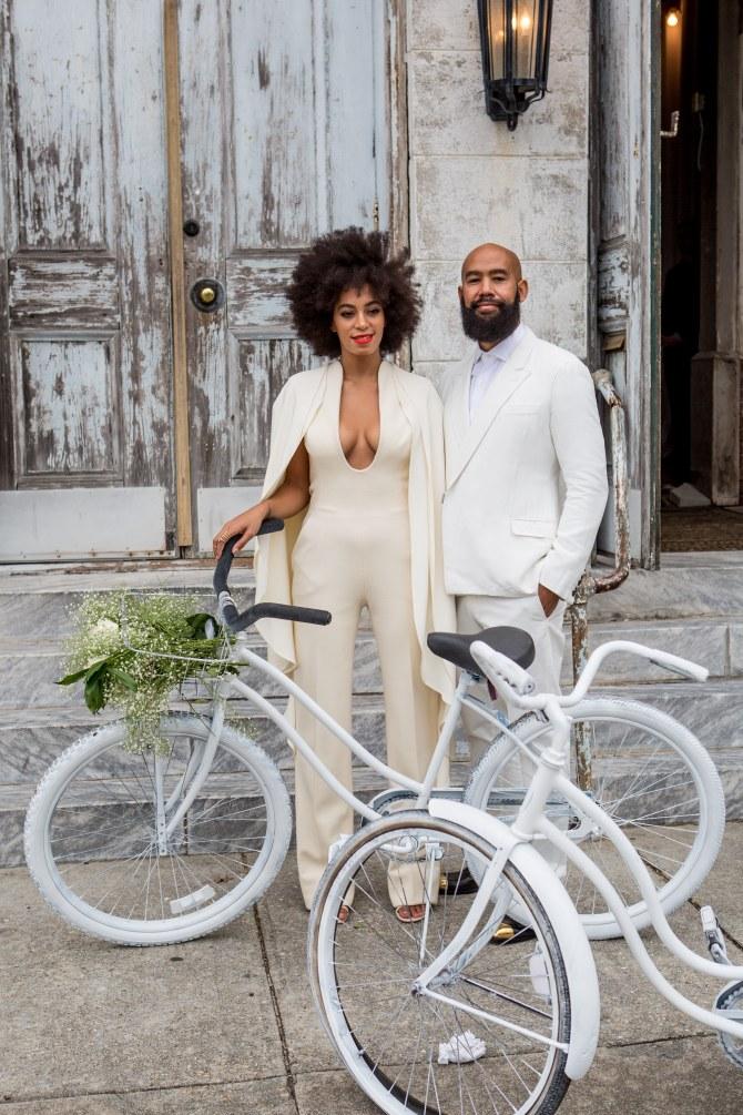 Solange Knowles et Alan Ferguson se sont mariés