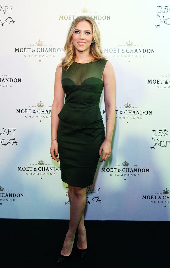 Scarlett Johansson en beauté.