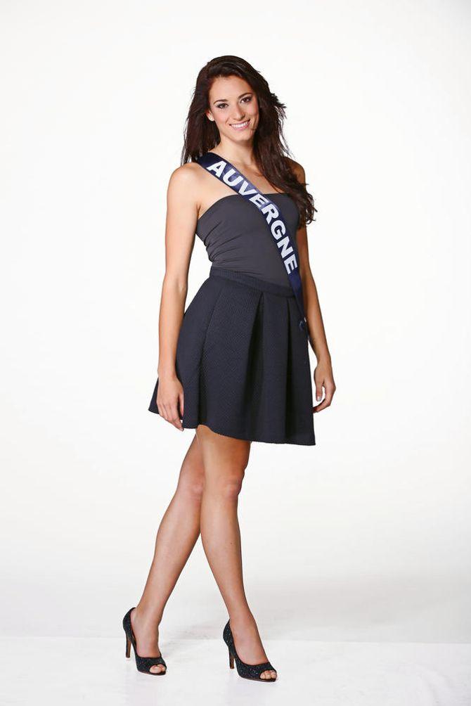 Morgane Laporte, Miss Auvergne - Miss France 2015