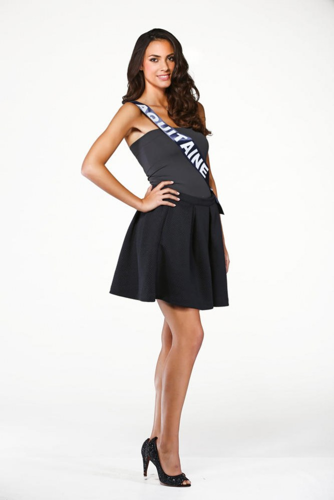 Malaurie Eugénie, Miss Aquitaine - Miss France 2015