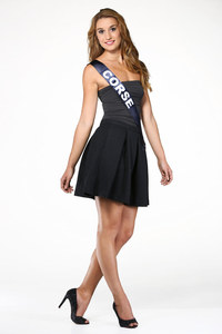 Dorine Rossi, Miss Corse - Miss France 2015