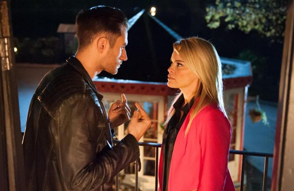 Hollyoaks 25/11 - Diane suspects Tony is up to his old tricks