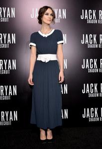 Keira Knightley, dans une robe Chanel, en 2014