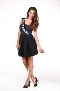 Charlotte Pirroni, Miss Côte-d'Azur - Miss France 2015