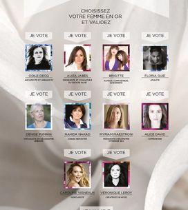 Trophée du Public des Femmes en Or : vous avez voté !