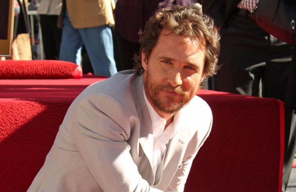 Matthew McConaughey auf 'Walk of Fame' verewigt