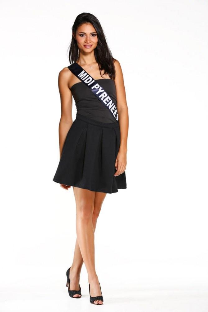 Laura Pelos, Miss Midi-Pyrénées - Miss France 2015