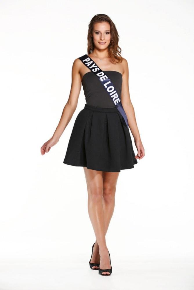 Flavy Facon, Miss Pays de Loire - Miss France 2015