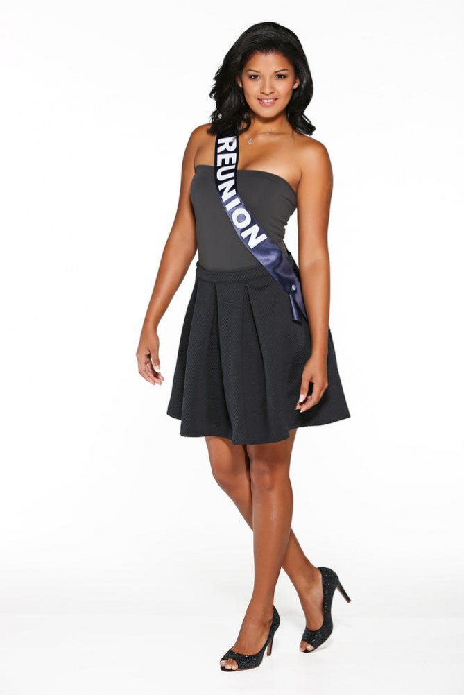 Ingreed Mercredi, Miss Réunion - Miss France 2015