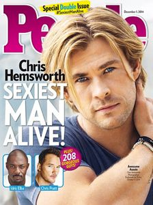 Chris Hemsworth homme le plus sexy de 2014