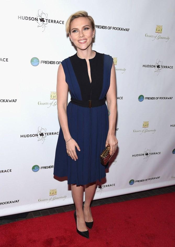 Scarlett Johansson, le 18 novembre 2014 à New York