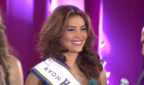 Maria Jose Alvarado, candidate du Honduras à Miss Monde.