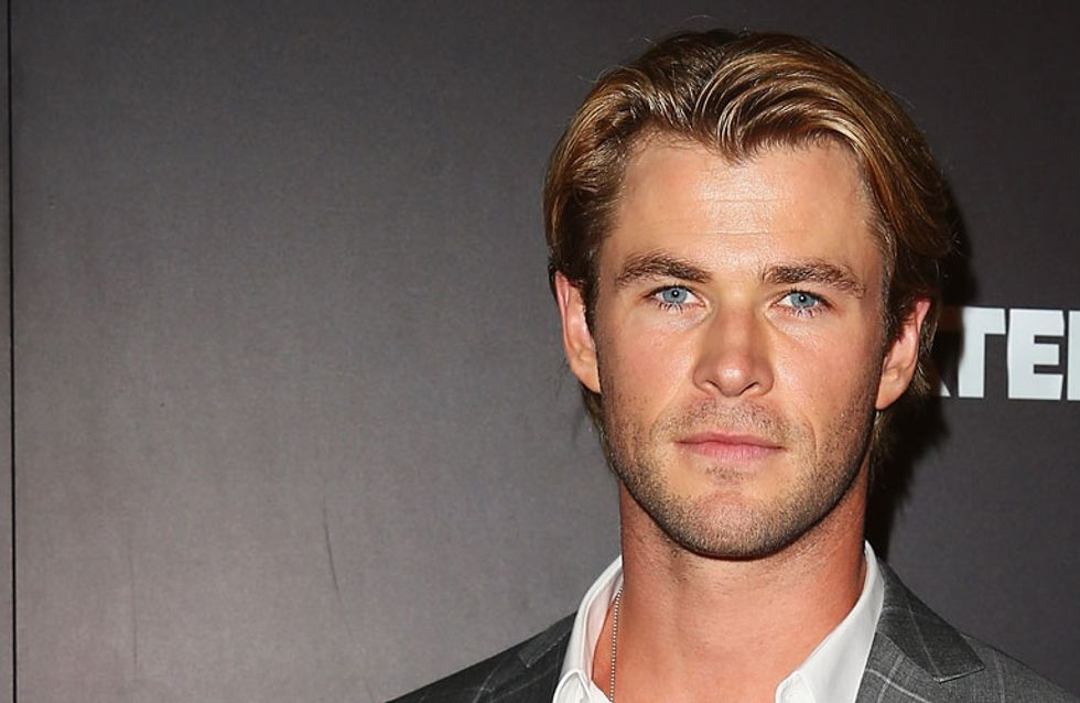 Chris Hemsworth Just Proved Being A Loving Husband And Father Makes You Sexiest Man Alive