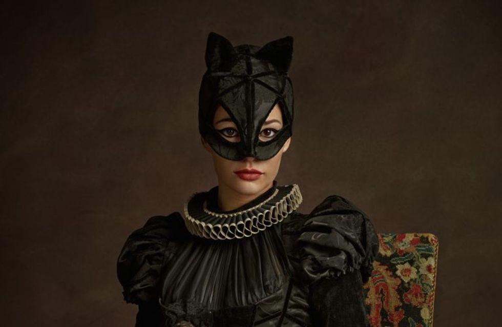 Des super-héros transformés à la mode d'antan, la série photo loufoque de Sacha Goldberger