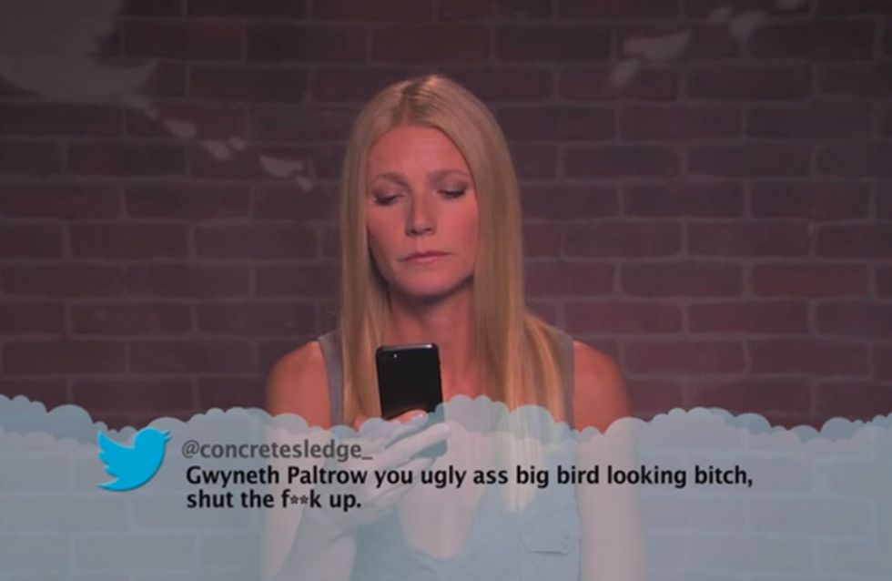Britney Spears, Gwyneth Paltrow And More Celebs Read Mean Tweets About Themselves
