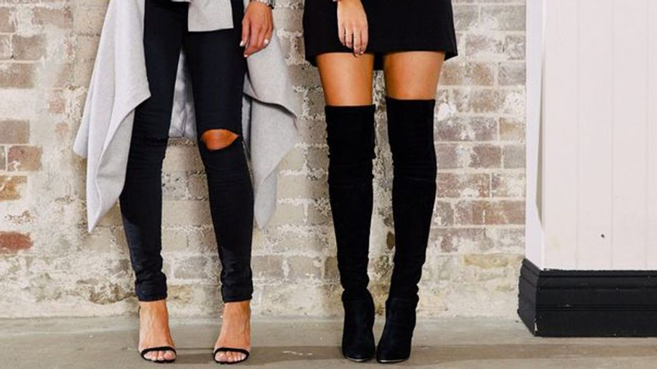 5 Chic Ways To Style Your Over-The-Knee Boots