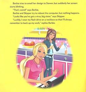 Barbie est très mauvaise en informatique