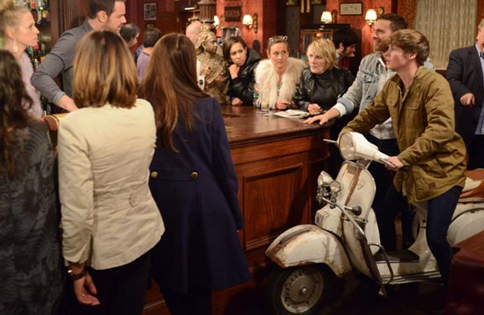Eastenders 05/12 – Sonia is clearly unwell