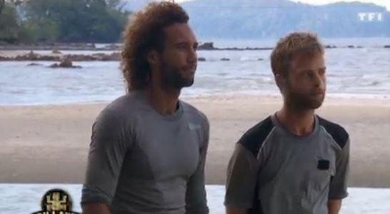 Laurent et Martin après l'épreuve d'orientation