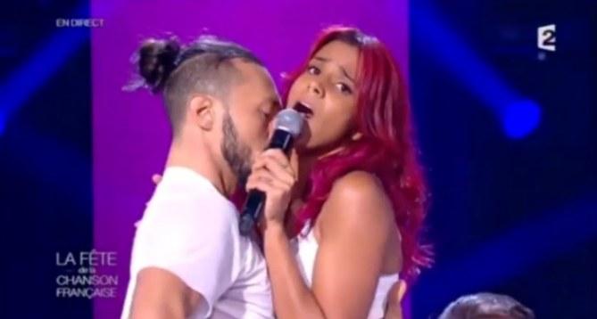 Shy'm sur le plateau de France 2 vendredi 21 novembre