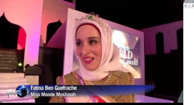 Miss Monde Musulmane 2015