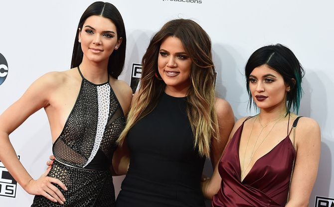 Kendall Jenner, Khloe Kardashian y Kylie Jenner