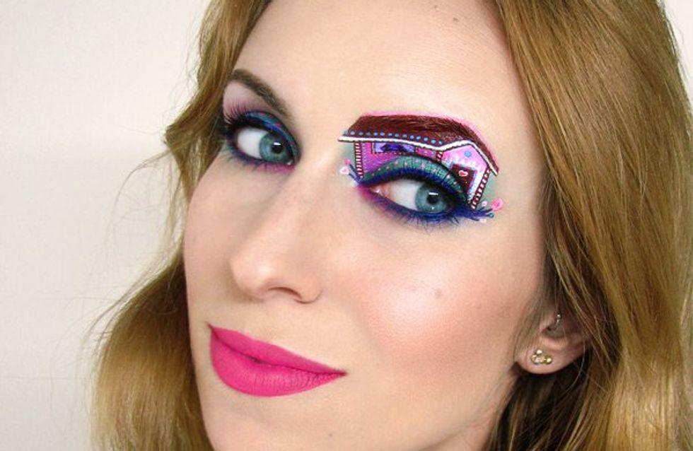Quand le maquillage des yeux devient une véritable œuvre d'art (Photos)