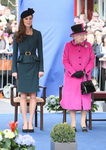 Kate e la Regina Elisabetta
