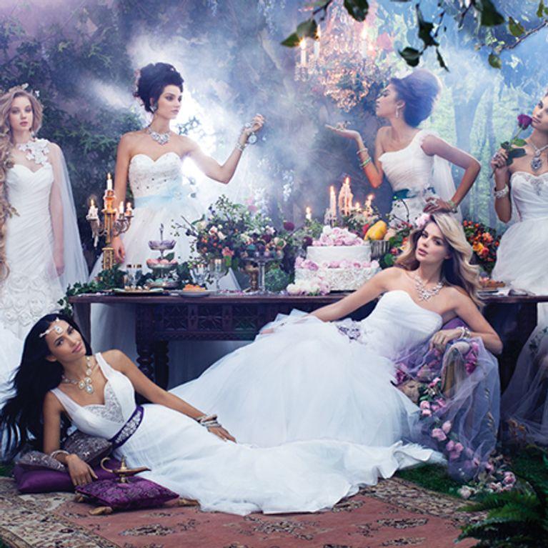 Les Princesses Disney Ont Inspire Ces Robes De Mariee