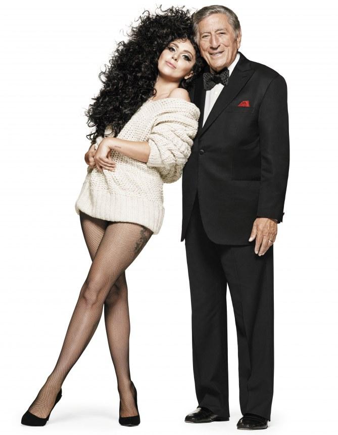 Lady Gaga et Tony Bennett dans la campagne de Noël H&M.