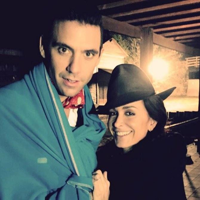 Jenifer et Mika bravent le froid pour The Voice 4