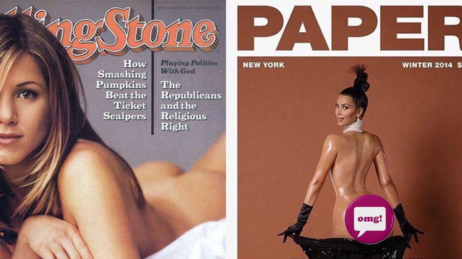 """La Aniston risponde alla Kardashian su lato B: """"Scusa Kim, sono io l'originale!"""""""
