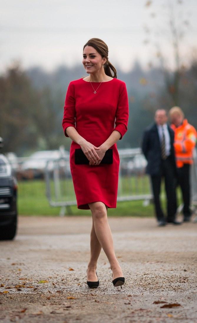 Kate Middleton à la visite du foyer pour enfants.