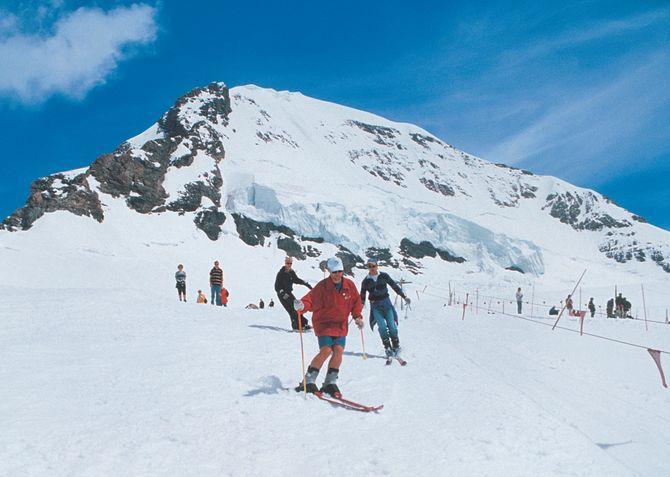 Temporada de esqui em Interlaken