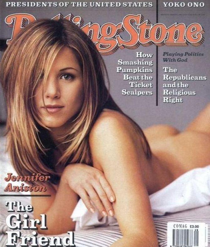 Jennifer Aniston pour Rolling Stone.