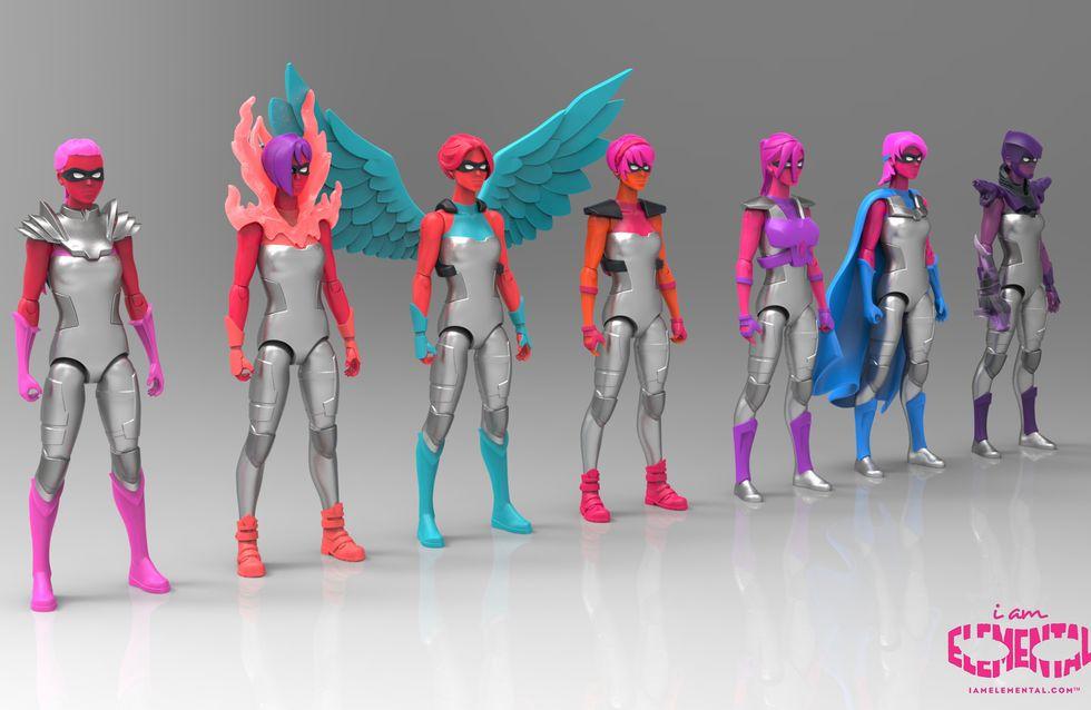Ces poupées super-héroïnes donnent enfin le pouvoir aux petites filles