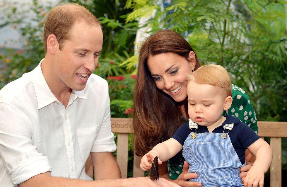 Kate Middleton, baby George et le prince William réunis pour un nouveau portrait de famille (Photo)