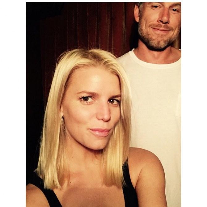 Jessica Simpson et son mari
